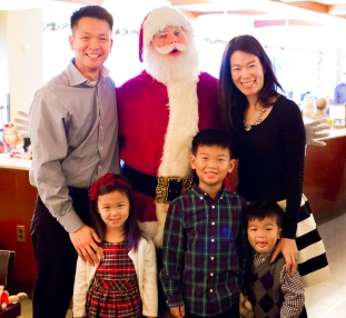 Breakfast with Santa at Rockefeller