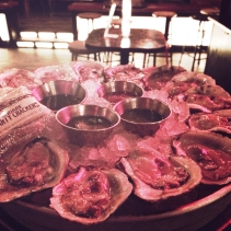 Oysters at Black Jack Bar