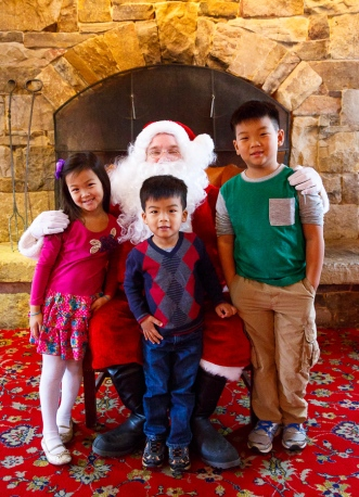 Breakfast with Santa at Clyde's Willow Creek (since 2009)